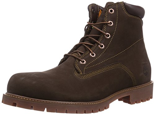 Timberland Herren 6 in Basic Alburn Waterproof Stiefel, Braun (Brown Nubuck), 45 EU