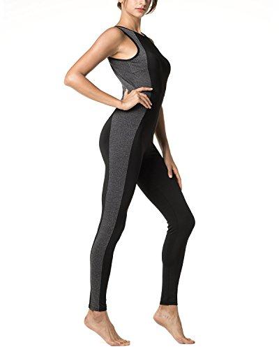 LAPASA Mono Deportivo de Mujer - Sper Ergonmico (Ideal para Yoga, con Espalda Abierta) L31