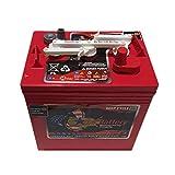 Batería De Ciclo Profundo De 6V, 280A. Carrito de Golf, Carretilla Elevadora, Barredoras Eléctricas, Camiones, Furgonetas. Suministro Continuo de Energía.