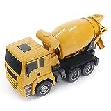AIOJY 1/18 Control Remoto del camión del Mezclador Grande de Carga de Juguete for niños de 6 Canales Ingeniería del Modelo de Carro, el Mejor cumpleaños y del Navidad for los niños