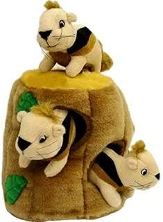Kyjen Outward Hound Hide a Squirrel Fun Hide & Seek Interactive Puzzle Plush Dog Toy