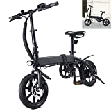 Bicicleta eléctrica Velocidad máxima 25 KM/H Bicicletas Voltaje/Capacidad 36V / 10AH Bici Plegable Endurance 40-45KM, Disco de Freno Grupo decuadro Horquilla de aleación/Acero
