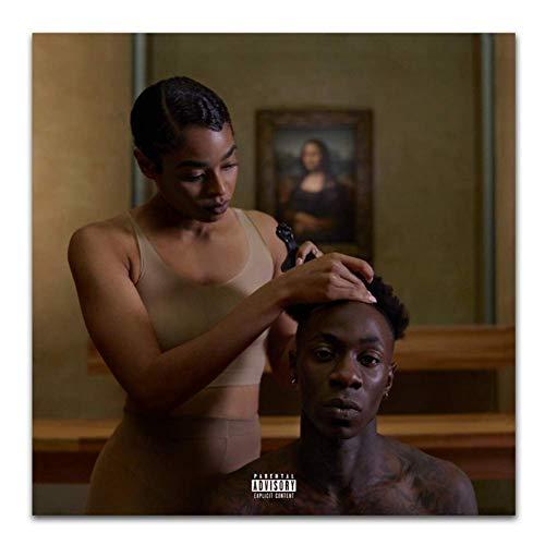 NRRTBWDHL Die Carters 2018 Beyonce Cover Alles ist Liebe Kunst Poster Leinwand Malerei Home Decor Poster und Drucke -50x70cm No Frame