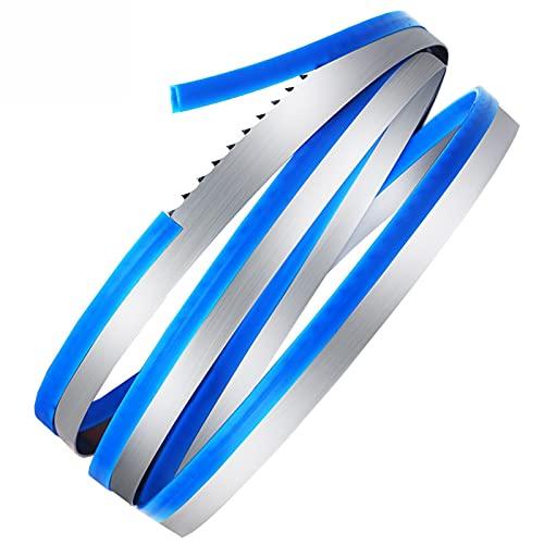 Cuchillas de Sierra de Banda de Hueso de 160 mm de 2 Piezas 1650 * 16 * 0.5mm (0.56) Hojas de Sierra de Banda Hueso, Meta, Pescado congelado (JG-250 HRS-250 QG-250)