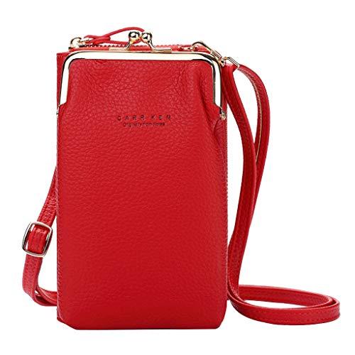 Mini bolso cuadrado del bolso de la bandolera de las señoras de la mochila del bolso de cuero de las señoras impermeable