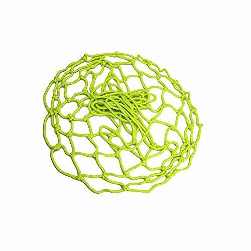 TAOYUN Rete da Pallacanestro Fluorescente Verde Rete da Pallacanestro Luminosa Bagliore nel Buio Notte Sport Canestro da Pallacanestro Sostituzione Rete da Basket Standard