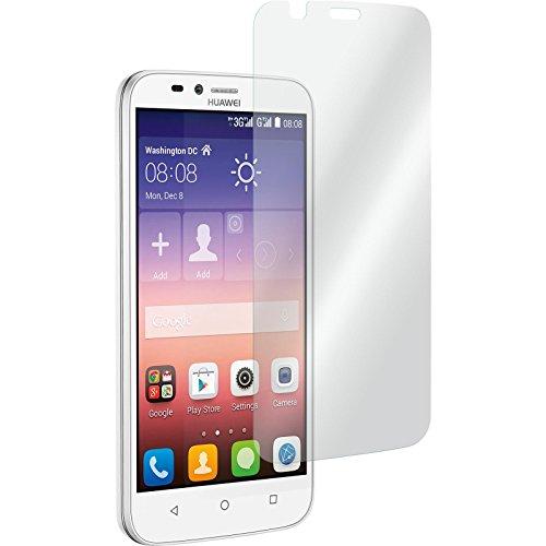 PhoneNatic 2 x Glas-Folie klar kompatibel mit Huawei Y625 - Panzerglas für Y625