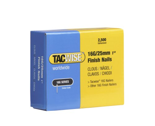 Tacwise 0666 Clavos 16 g/25 mm