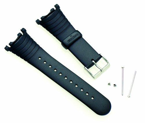Suunto Strap R Correa para Relojes, Armband Vector Black elastomer (SS004768000), Negro, Talla Única 🔥