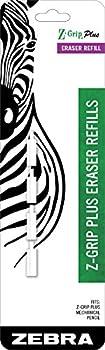Zebra Z-Grip Plus Mechanical Pencil Eraser Refills 4-Count