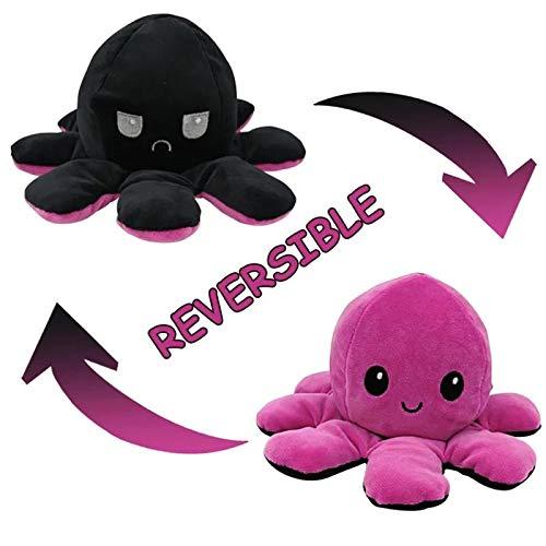 Reversible Octopus Plushy (Pink)