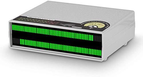 Douk Audio 56 bit Level Meter LED Music Spectrum Display Stereo Sound Indicator (Green Version)