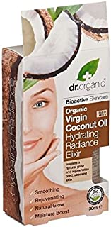 Dr Organic Virgin Coconut Oil Hydrating Radiance Elixir