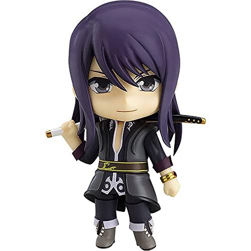JJRPPFF La muñeca Modelo Yuri Lowell de la versión Q, un Juego de rol producido por Namco Tales Studio, Mide 3.9 Pulgadas de Alto, está Hecho de Material de PVC para la colección del hogar.