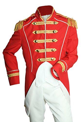 M&G Atelier Soldat Napoleon - Chaqueta para disfraz (talla 46-60), color rojo rojo 46