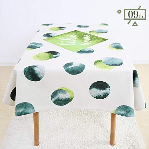 fangfaner Jane Europees modern tafelkleed stof rechthoekige tuin tv-kast vierkante salontafel doek waterdicht en fris.