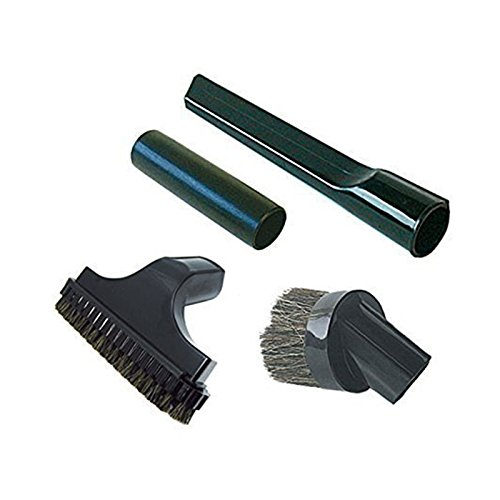 Qualtex A4 Accessoire Crevice Dusting Trappen Mini Tool Kit voor Numatische Henry Stofzuigers