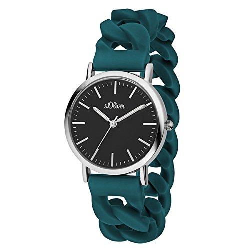 s.Oliver Time Unisex Erwachsene-Armbanduhr SO-3418-PQ