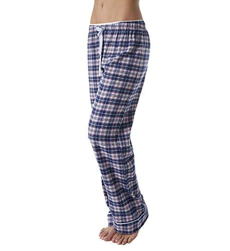 Tommy Hilfiger Women's Flannel Lounge Pajama Pant Bottom Pj, Almeda Plaid, Large