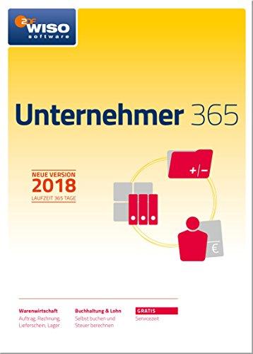 WISO Unternehmer 365 (2018) Frustfreie Verpackung Software