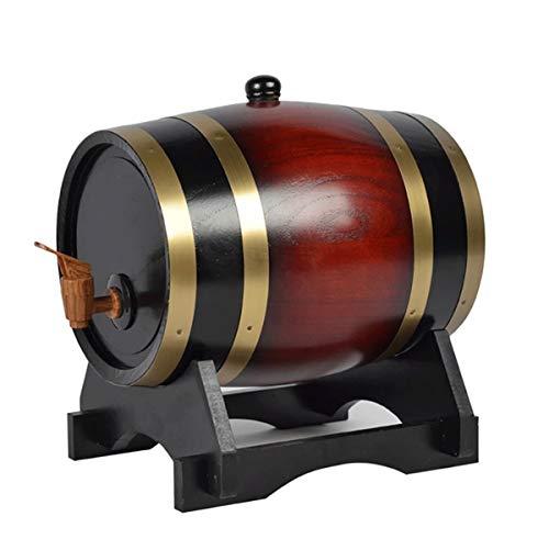 Barril de Vino de roble Hogar Barril de Vintage Barril de Vino de Madera de Roble, Whisky Barril Barril de Vino Barril de Madera, for Guardar su Propio Whisky, Cerveza, Vino, borbón, Brandy