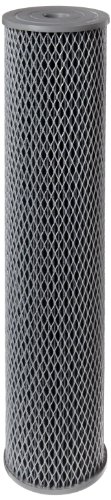 Pentek - 155382-43 NCP-20BB Pleated Carbon-Impregnated Polyester Filter Cartridge, 20' x 4-1/2', 10 Microns