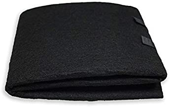 PUREBURG Carbon Filter,Cut-to-Fit Carbon Pad 16 x 48 inches for Air Filter Charcoal Sheet fits Air Purifiers Range Hoods Furnace Filters removes Odor VOC Parts Accessories Replacement,1-Pack
