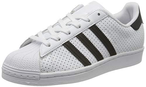 adidas Superstar W, Scarpe da Ginnastica Donna, Ftwr White/Core Black/Ftwr White, 36 EU