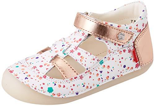 Kickers SUSHY, Chaussure Baby Bébé Fille, Blanc Blossom,23 EU