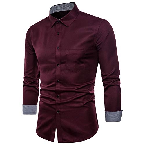 MUMU-001 Feitong Camisa Social Shirt Heren lange mouw Formal Casual Pak Slim Fit T jurk Shirts blouse top
