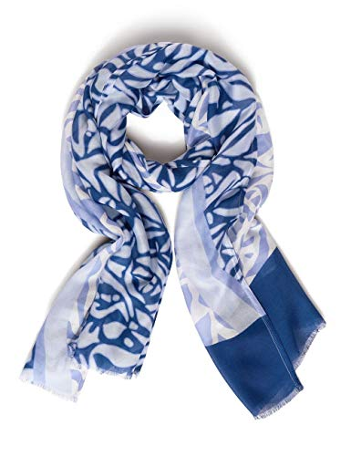 Street One Damen Modal Mode-Schal, Eclipse Blue, A