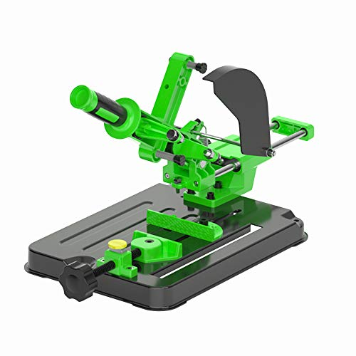 KKmoon Winkelschleifer Halterung,Poliermaschine Umrüstschneidemaschine Tischkreissäge Multifunktionale Desktop-Zugstange Winkelschleifmaschine Ständer für 100 und 125 Winkelschleifer