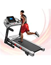PowerMax Fitness TAM-225 2HP (4HP Peak) Motorized Treadmill with Free Installation Assistance, Home Use & Manual Incline