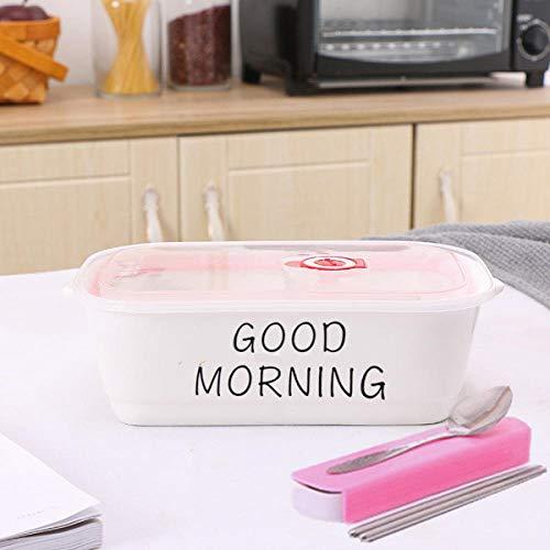 haiyan1 Bento Box_Ceramic Multi-Country Lunchbox Fresh Bowl @ (Guten Morgen) Zwei Gitter + Geschirr