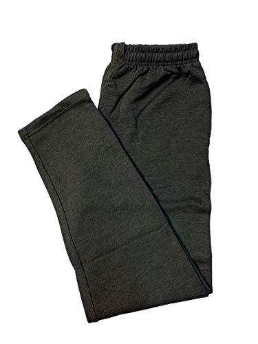 pantaloni tuta 5xl uomo BE BOARD Pantalone Tuta Uomo Cotone Felpato Invernale 9036CONF Taglie Forti Colore Antracite Melange (5XL)