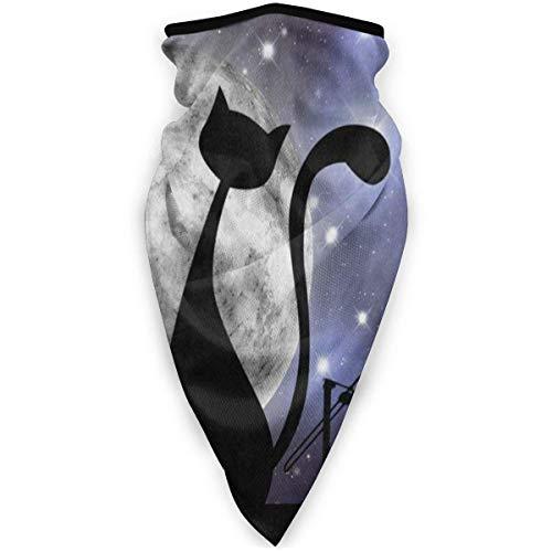 Traveler bivakmuts, bivakmuts, ademend, winddicht, kattendak, Galaxie, maan en ster, halsdoek, sjaal, sjaal
