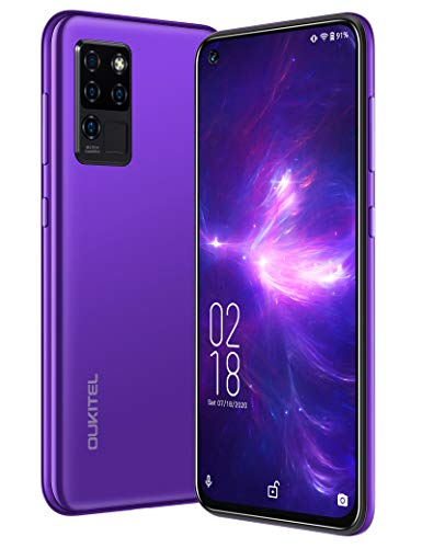 OUKITEL C21 Unlocked Cell Phones, 64GB/4GB Helio P60 20MP Selfie Unlocked Smartphone Dual Sim Android Mobile Phones with 6.4'' FHD+ Octa Core 4000mah Face ID + Fingerprint International Version