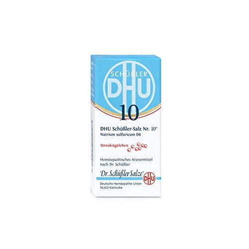 DHU Schüßler-Salz Nr. 10 Natrium sulfuricum D 6 Streukügelchen, 10 g Globuli
