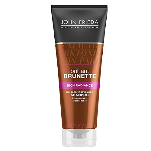 John Frieda Brilliant Brown Shampoo Rich Radiance, 250ml