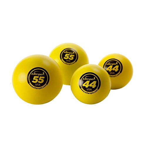 Best Price! Killerspin 44 mm & 55 mm Table Tennis Balls