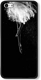 iPhone 5C Case AOFFLY Funny Ballet Dance Black PC Hard Case For Apple iPhone 5C