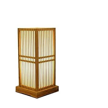 OYIPRO テーブルランプ 竹編み LED対応 ハンドメイド 手作り ベッドサイドライト 竹細工 卓上スタンド リビング ベッド ルーム 畳 寝室 装飾 かわいい