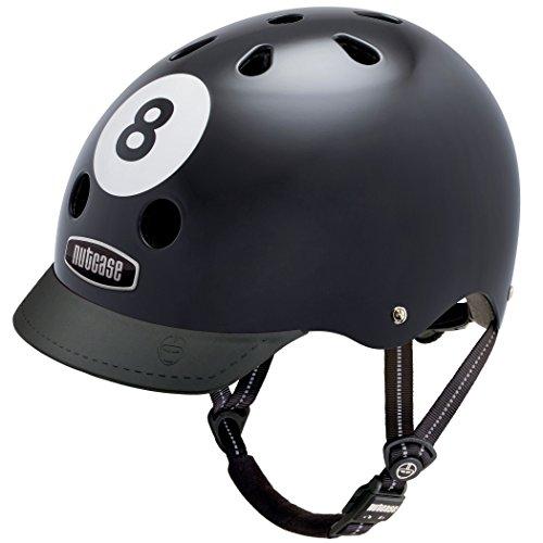Nutcase Gemusterter Street Bike für Erwachsene, Mehrfarbig (8 Ball), L (60-64cm)