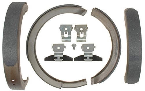 ACDelco 14781B Advantage Bonded Rear Parking Brake Shoe with Hardware