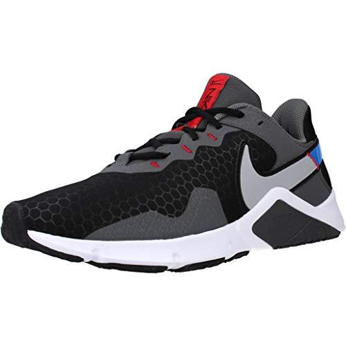 Nike Legend Essential 2 Deportivas Hombres Gris/Azul - 43 - Multideporte Shoes