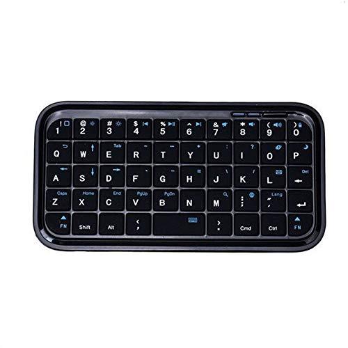 KK Zachary Tastiera Bluetooth Piccola, Quarzo Leggero Bluetooth Tastiera Portatile Tre-System Universal Keyboard Bluetooth