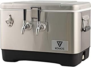 Komos 2 Tap Stainless Steel Draft Box