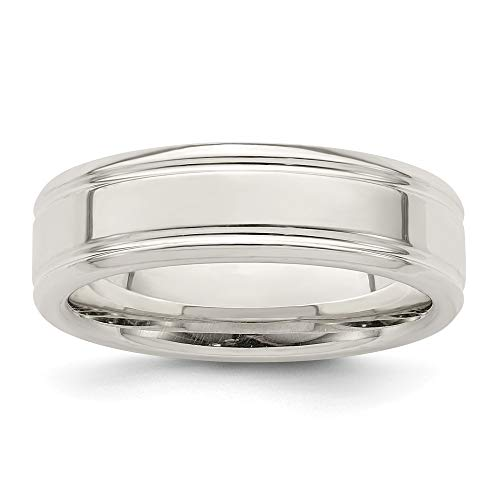 925 Sterling Silver 6mm Wedding Ring Band Size 13 Fancy Fine Jewellery For Women Gifts For Her