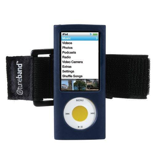 TuneBand for iPod nano 5th Generation (Model A1320, Rear Camera), Premium Armband, Compatible with Nike+iPod, NAVY