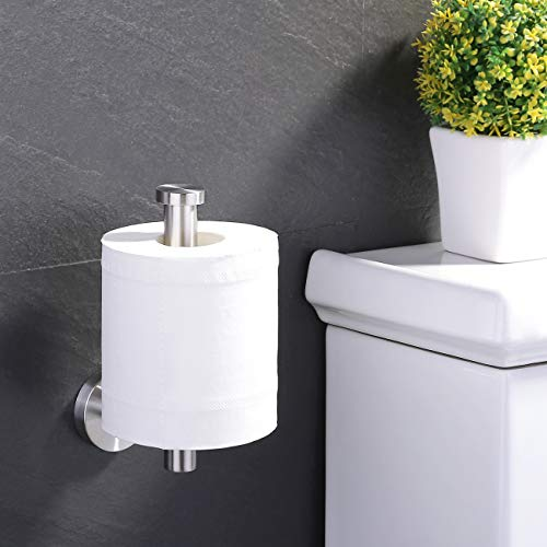 KES Toilet Paper Holder SUS304 Stainless Steel Wall Mount Brushed, A2175S12-2